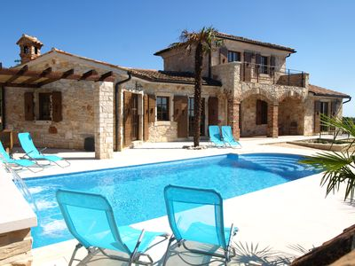 Private Tiled Heated Pool with Automatic Safety Cover and Air-Conditioning