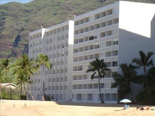 Makaha property rental photo - Oceanfront View