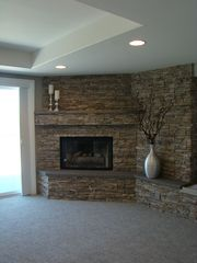 Master Suite fireplace - Temecula house vacation rental photo