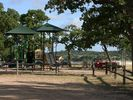 Our park is a great place to relax while the kids play!