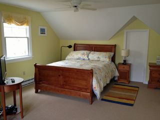 Chatham house photo - Sunny, roomy master bedroom has a new Tempur-pedic mattress