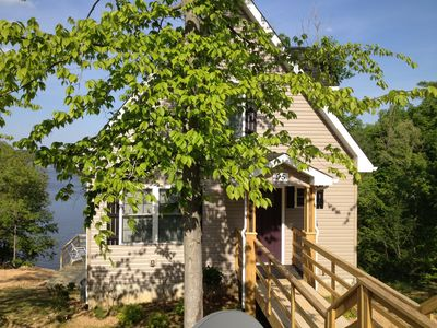 New Lake Front Cottage W/ Private Dock & Spectacular Views From 3 Screened Decks