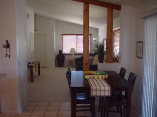 Oro Valley house photo - View from Family room though dining area into Living room