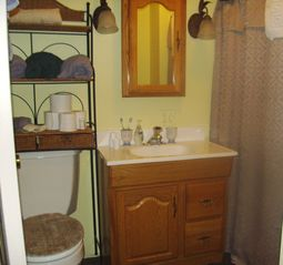 Bungalow - Bathroom with shower - Canandaigua cottage vacation rental photo