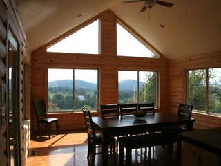 Luray cabin photo - Another great view while you dine.