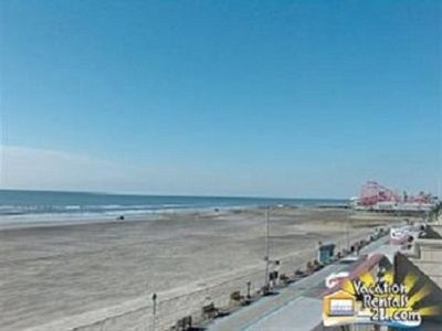 North Wildwood condo rental - South Deck View: Morey's Pier: Imagine The Fri Fireworks!