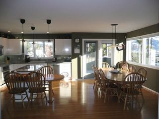 Canmore house photo - Kitchen and Dining Area - seats 12