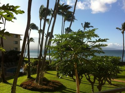 View from the lanai in 6/2013.