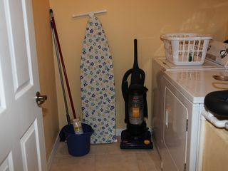 Club Cortile townhome photo - Washing Machine and Vacuum Cleaner........