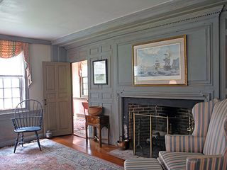 Nantucket Town house photo - Front Parlor View No. 2