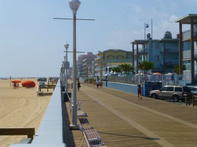 Ocean City's 2 1/4-mile long Boardwalk