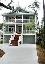 Fripp Island house rental - Across from Ocean CK Clubhouse, NEW Home w/Dock on Tidal Creek..Bring your Boat!