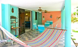 Luquillo villa photo - Terrace & Hammock