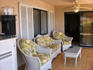 Key Largo house photo - Upper Sun Deck with Island Oasis Drink