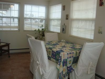 Sunroom - table not in sun room - now futon (sleeps 2)