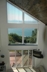Bay view from upstairs bedroom