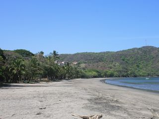 Playa Hermosa house photo - Laid back, family friendly beach just a 10 minute walk from our home.
