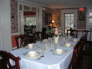 Falmouth house photo - Large dining room with plenty of seating for large group