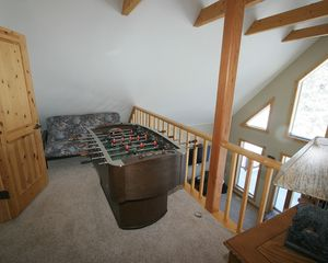 Pagosa Springs house photo - Upper Loft with Foosball, Office Area and Futon