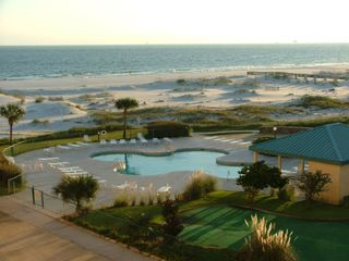 Fort Morgan condo photo - Oh What a View from Your Balcony