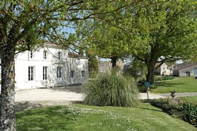 Gite near Matha & Cognac, Private Half Sunken Heated Pool, Enclosed Garden..
