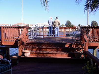 Huge deck with panoramic view
