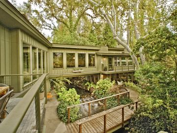 Three Rivers house rental - A River runs through it... Literally.