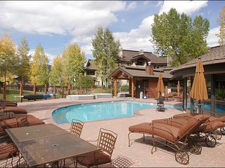 Steamboat Springs condo photo - One of the Luxurious Pools & 3 of the Outdoor Hot Tubs
