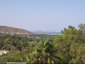 View towards Mar Menor from the sun terrace
