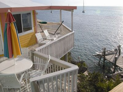 Serenity Cottage and deck
