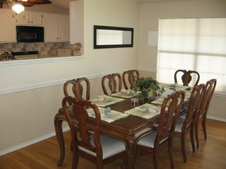 South Padre Island house photo - Dining Table Seats 8