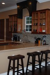 Bandon house photo - .Granite with glass backsplash