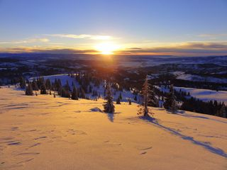 Steamboat Springs condo photo - Winter Sunset Steamboat Springs