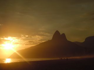 Ipanema apartment photo - Every sunset a different ( and splendid ! ) spectacle