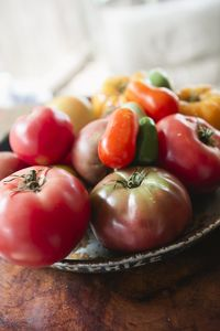 Garden provides fresh peppers, veggies, herbs and the BEST tomatoes you'll eat!!