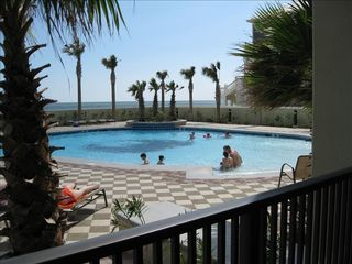 Orange Beach condo photo - Nice outdoor pool.