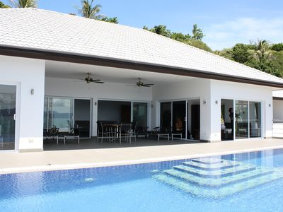 Bang Po beach villa rental - Crystal View: Pool