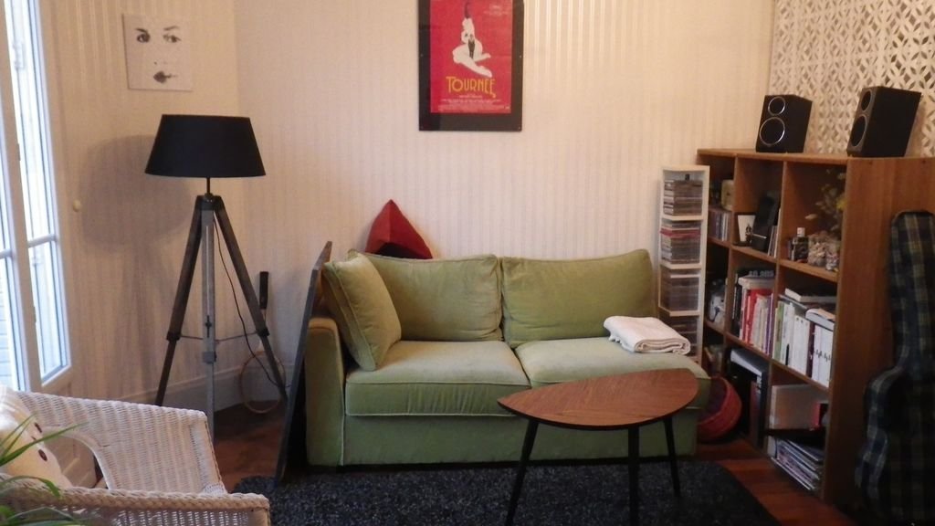 Holiday apartment, 31 square meters , Clichy, France