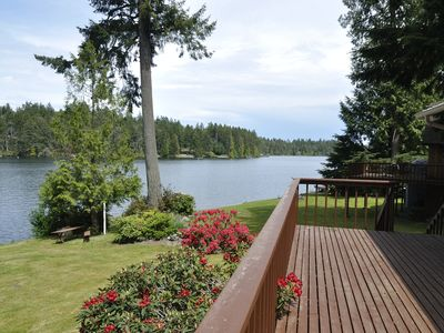 View of Lake Florence from deck