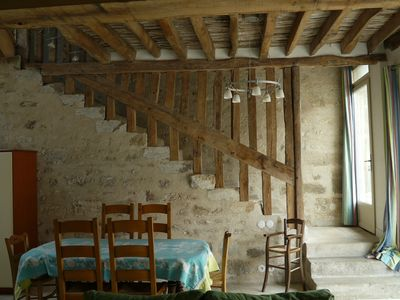 The grates: Lodging restored in the traditions, in a typical farm of Vexin