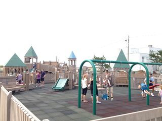Atlantic City house photo - If you've got kids: take them to the massive Ventnor playground on the boardwalk