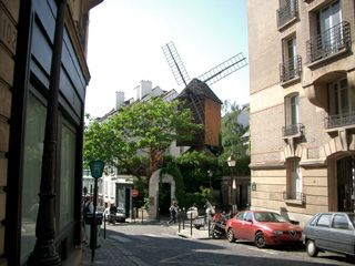 18th Arrondissement Montmartre apartment photo - The Moulin de la Galette