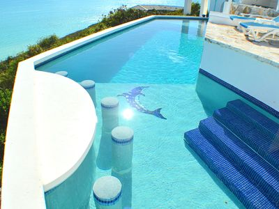 Large Lap Pool, Endless Ocean Beach Front, Cool Clean Air, Private Villa rental