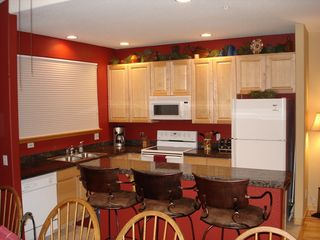 Silverthorne townhome photo - Kitchen fully stocked with lots of pots, pans etc.