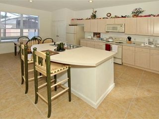 Windsor Palms house photo - Island Table and High Chairs