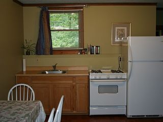 Killington house photo - Kitchen area with gas stove