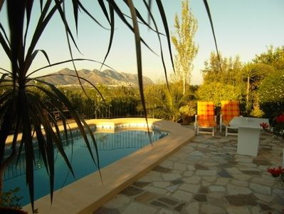 Orba apartment rental - Enjoy exclusive use of the pool.