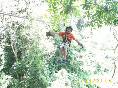 Canopy Riding for all ages...Fun, Fun, Fun!!!!!