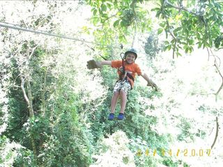 Roatan house photo - Canopy Riding for all ages...Fun, Fun, Fun!!!!!
