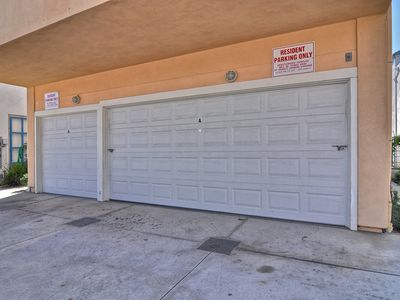Large 2 car garage (right hand garage)